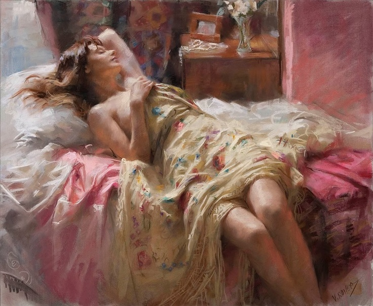 "Art by  Vincente Romero Redondo   ""Between the dreams of night and day there is not so great a difference."" (Carl Jung)"