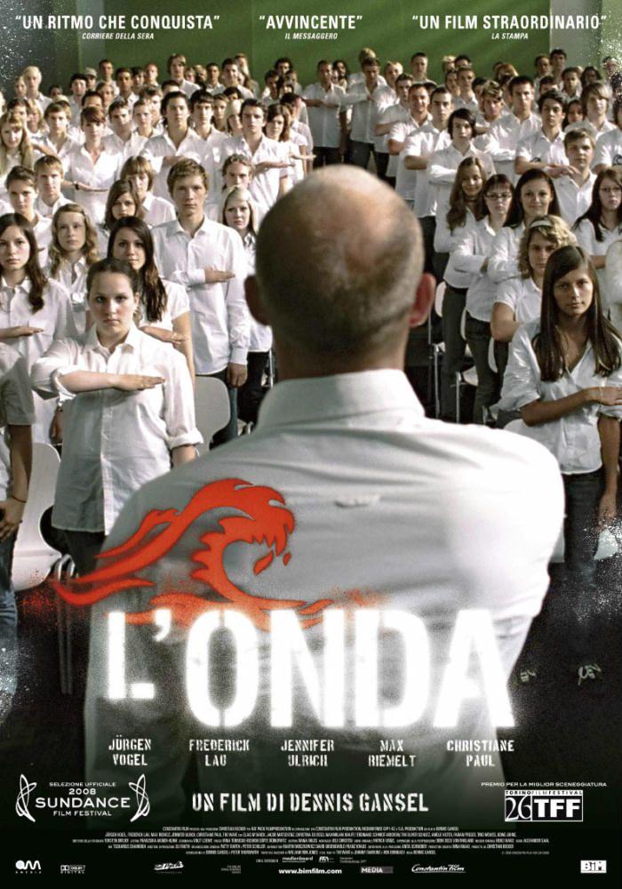 27 Gennaio h.18,30 - Presso la Libreria Il Dono, in occasione della Giornata della Memoria, si potrà assistere alla visione del film L'ONDA. Vi aspetto numerosi!