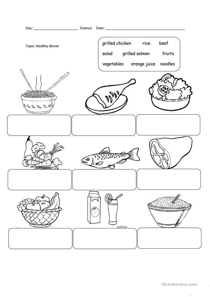 English essay food fair