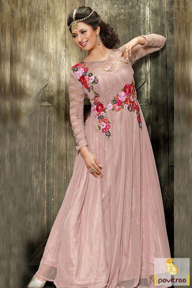 187 best Latest Fancy Gown and Floor Length Anarkali Salwar Suits ...