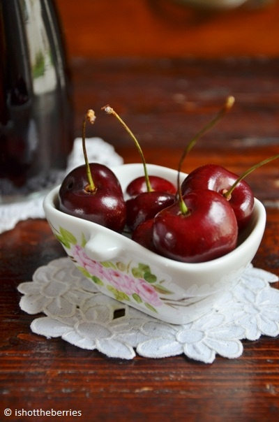 cold cherry soup | Taken by love | Pinterest