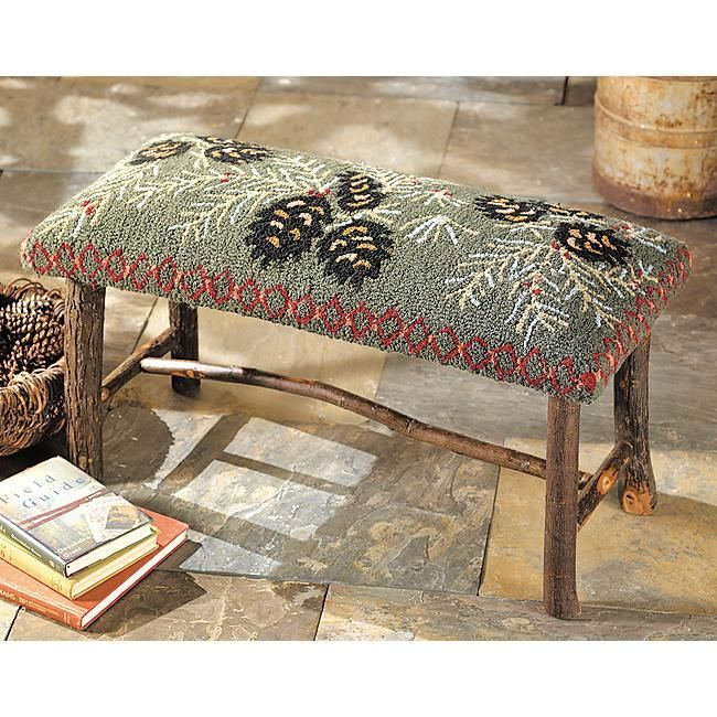 1000+ images about Rug Hooking - Stools, Pillows, Purses, Coasters ...