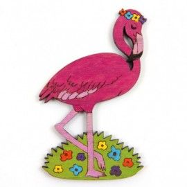 Flamingo Brooch - gorgeous gift from toddlers to teens, mums to bubs.