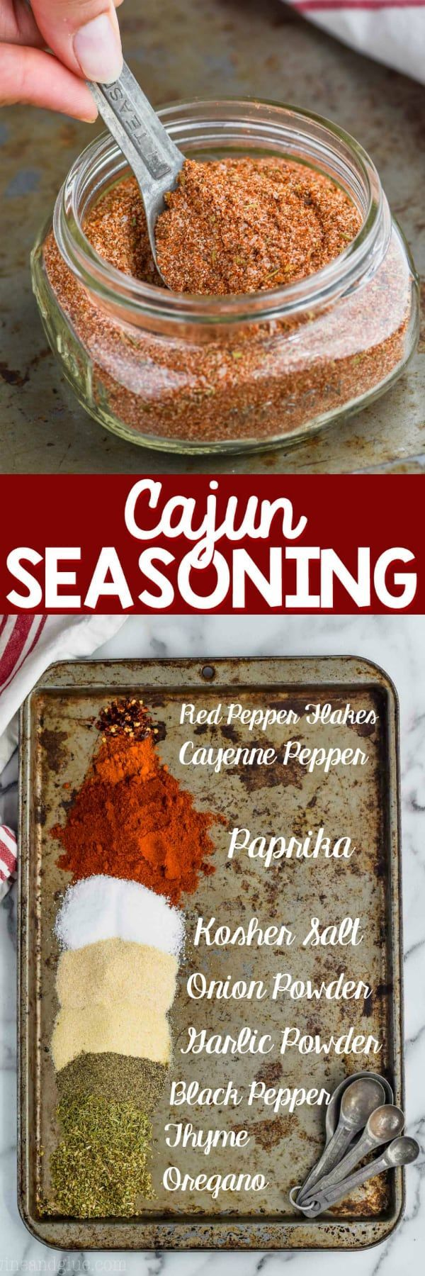 This Cajun Seasoning Recipe is a delicious and eas…