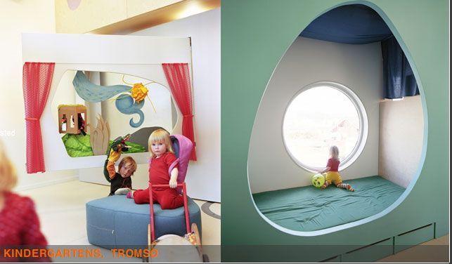 una tana per dormire   Kindergarten  70N arkitektur
