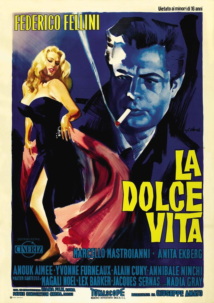 Tonight at ROSSOCINEMA is Fellini's classic, La Dolce Vita