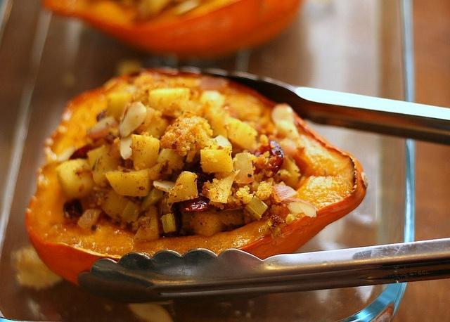 ... cranberry cornbread stuffing stuffed acorn squash with cranberry