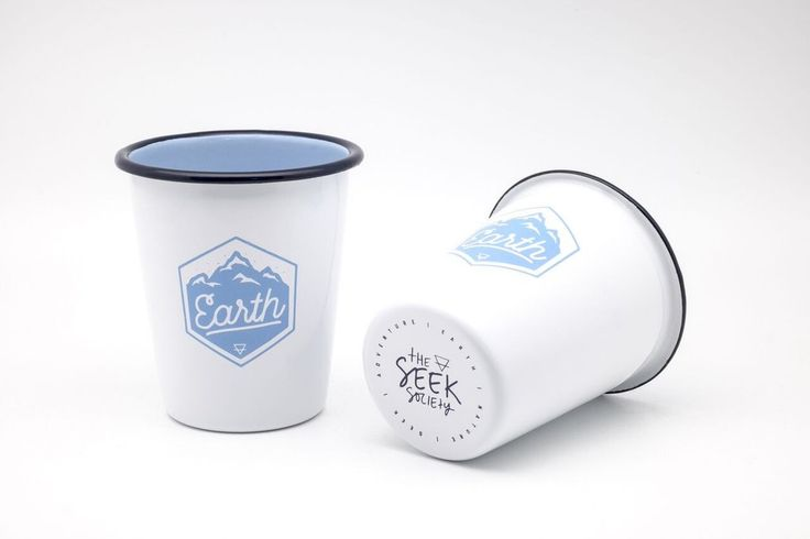The Seek Society 'Earth' tumbler is an investment in quality and style for your next adventure or to utilise at home. This practical, good looking and unique piece of quality enamelware has been designed by The Seek Society's talented artists in Sydney, Australia