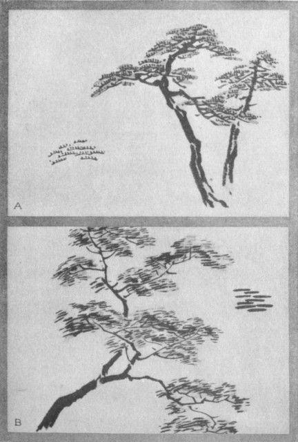 Serrated Dot (a). Ichi Ji dot (b). Plate XXXV.