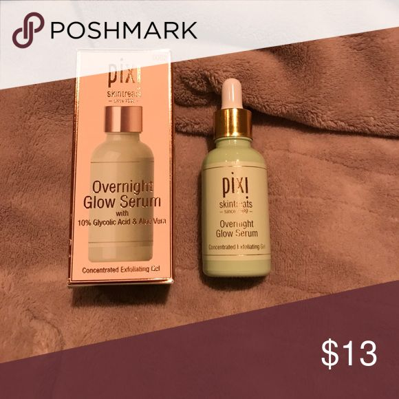 Pixi Overnight Glow Syrum Hardly used. Comes with box Mary Kay Makeup Luminizer
