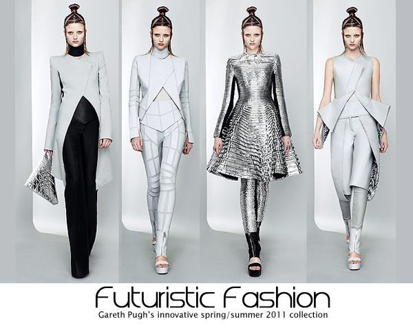Gareth Pugh runway, futuristic fashion, futuristic, futuristic fashion clothes, futuristic fashion runway, tech fashion