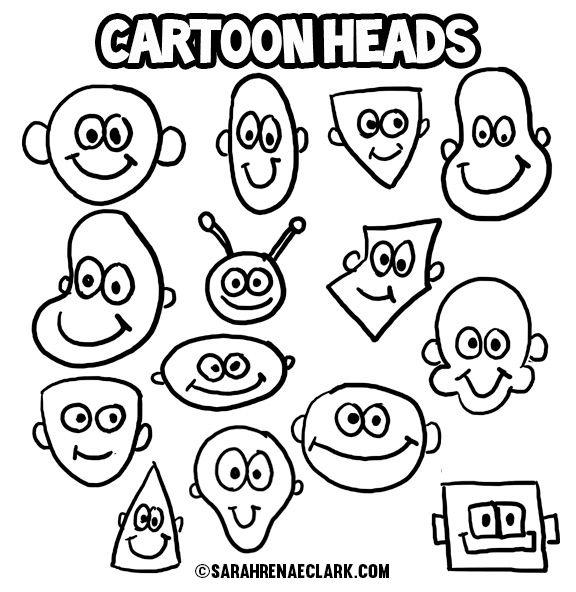 Cartoon Characters Heads : Best funny cartoon faces ideas on pinterest