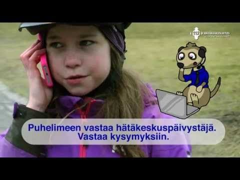 Opeta lasta - 112 Hätäkeskuslaitos