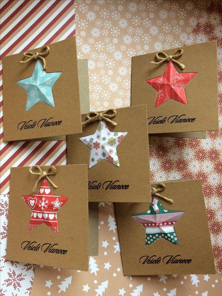 mini Christmas card  Star