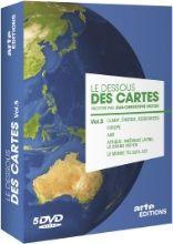 Le dessous des cartes est une émission de géopolitique proposée par Jean-Christophe Victor. 5 thématiques : Climats, énergie, ressources / Europe en danger(s) ? / Afrique et Moyen-Orient / Asie et Amérique Latine / Le monde tel qu'il est.