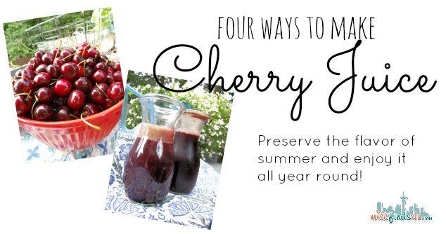 Wie man Kirschsaft macht – 4 einfache Methoden zur Auswahl – von Hand, Mixer, …   – FOOD