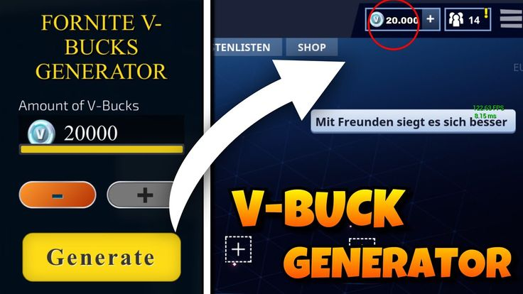 Fortnite hack generator free v bucks unlimited armor
