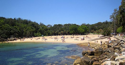 Shelly Beach near Manly, New South Wales
