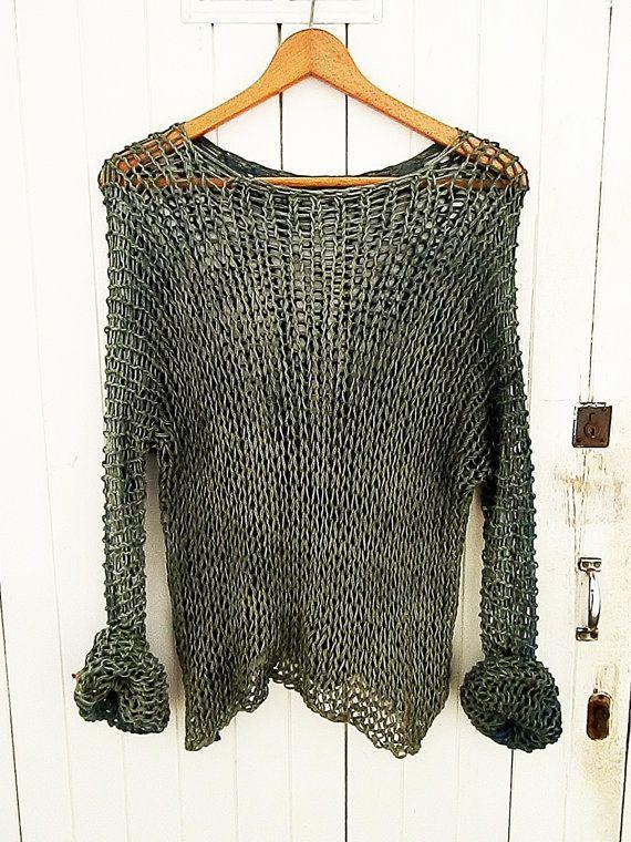 Hand Knit Dyed Sweater3 x 2 1 Free por martipa en Etsy