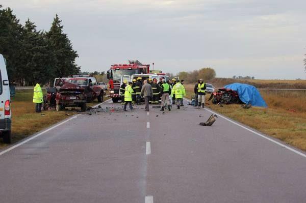 Tragedia en la Ruta 1: tres muertos en un choque frontal