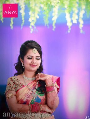 Wedding blouse in Coimbatore Bridal wear blouses collection in Coimbatore by Anya Boutique. #blouses #customised_blouses #bridal_blouses #wedding_blouses