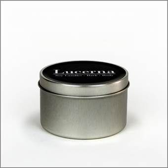 Picture of Peppermint and Eucalyptus Large Soy Tin
