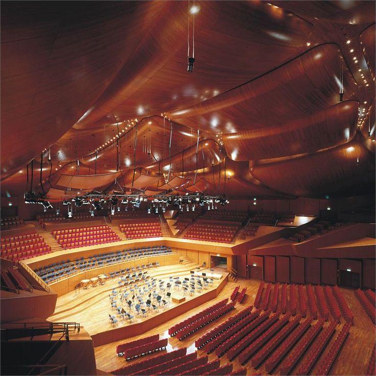 #MOMENTUMforbeautifulpeople Renzo Piano, Auditorium Parco della Musica, Roma, Italia, 2012