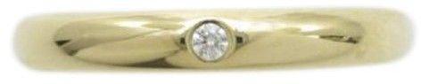 Cartier 18K Yellow Gold Diamond Wedding Ring Size 4 at TrueFacet #affiliatelink