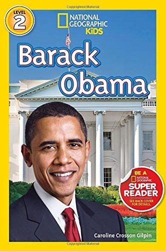 National Geographic Readers: Barack Obama (Readers Bios) by Caroline Crosson Gilpin http://www.amazon.com/dp/142631759X/ref=cm_sw_r_pi_dp_3gadxb0H9KH1Q