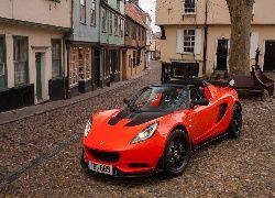 Czerwony, Samochód, Lotus, Elise