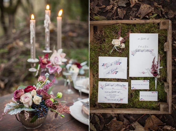 Arnos vale woodland wedding