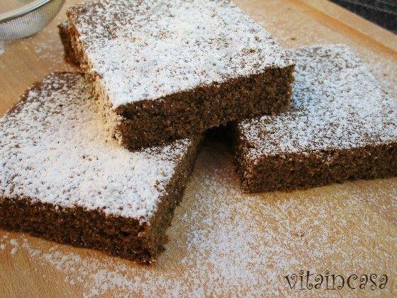 Torta tutto orzo, si chiama così perché è fatta con farina di orzo integrale e orzo solubile in polvere. Buonissima e senza lievito.