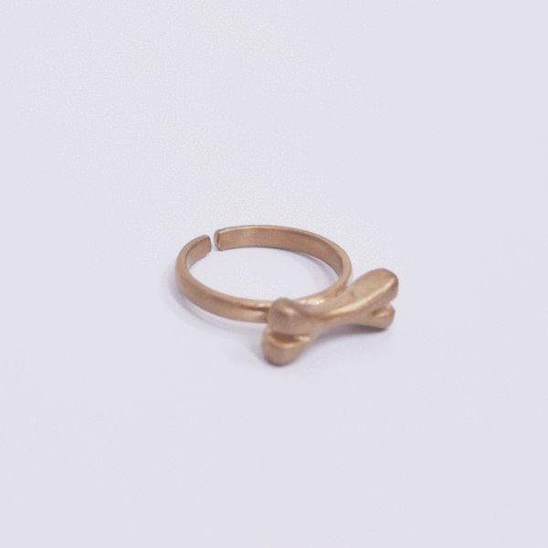 Ring Need My Bone in Gold/Silver/Black Silver/Pink Gold – Akira Mushi