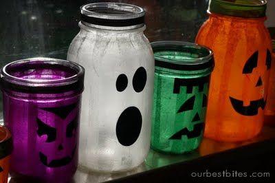 scary mason jars