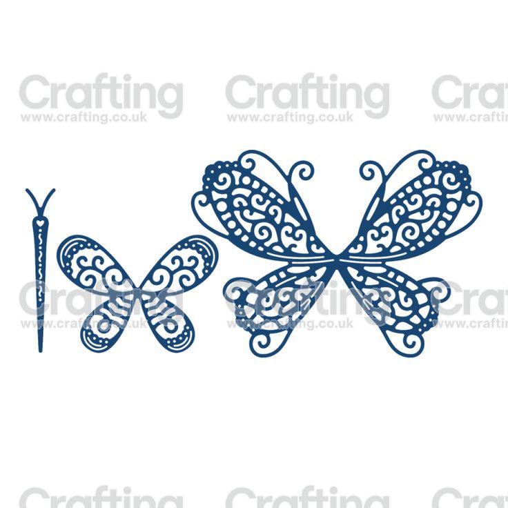 Tattered Lace Dies - Build a Butterfly Splendour