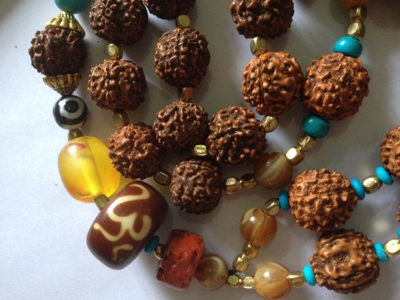 Rudra's Night Ride  Rudraksha Yogic Entrainer Mala      - 3 days left to order in time for xmas delivery <3 shop for good karma supports my work in rural india.