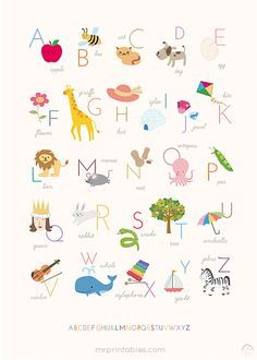 Simple Nursery and Kids Printables