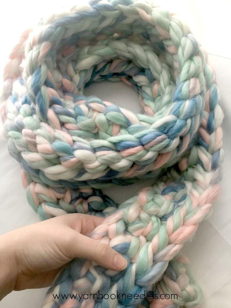 Chunky Yarn Scarf Pattern Crochet