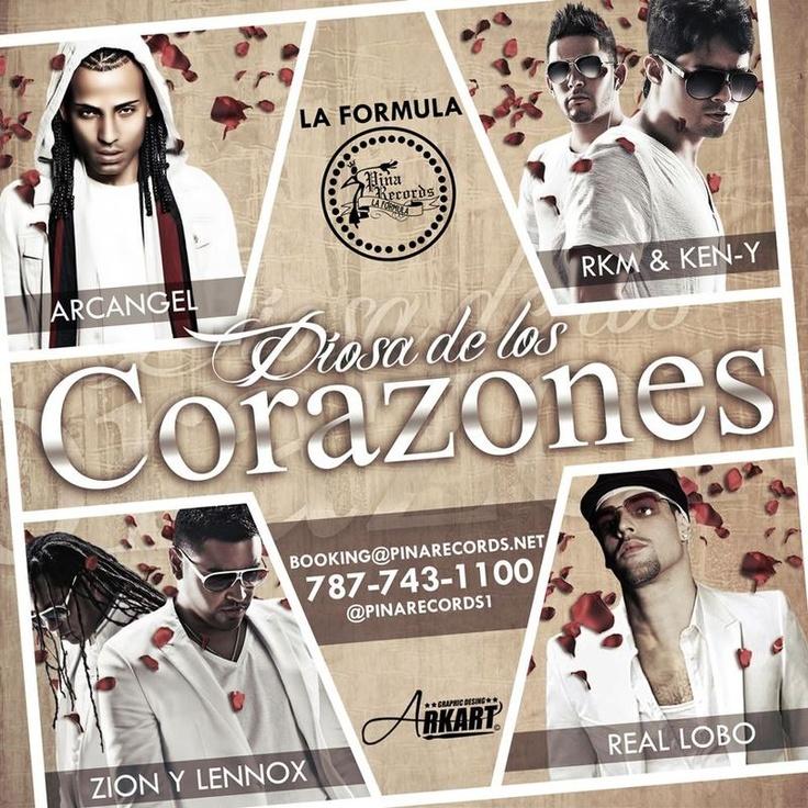 Zion & Lennox Ft Rakim & Ken-Y,Plan B,Lobo & Arcangel - Diosa De Los Corazones
