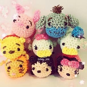 Rainbow Loom Tsum Tsum Friends - Pinspiration Only