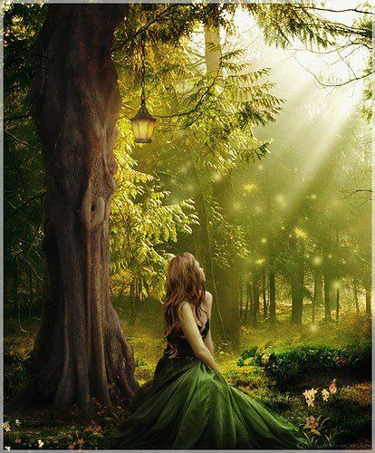 Sienna under the Sabie forest trees #atotok #fantasy #paranormal #romance