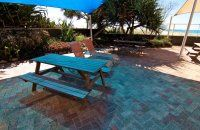 President Apartments - Barbeque Area - Beachfront Apartments Surfers Paradise