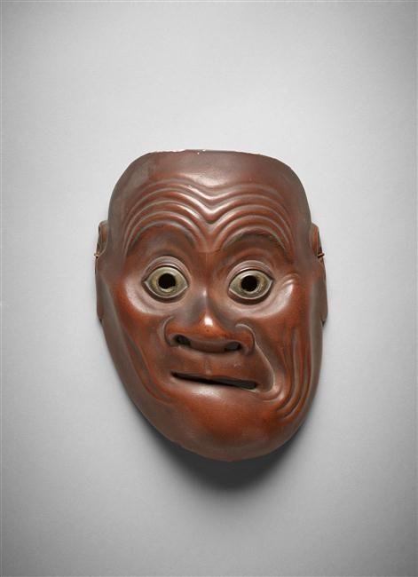 Réunion des Musées Nationaux-Grand Palais Masque de théâtre kyôgen Omi Paris, musée Guimet - musée national des Arts asiatiques