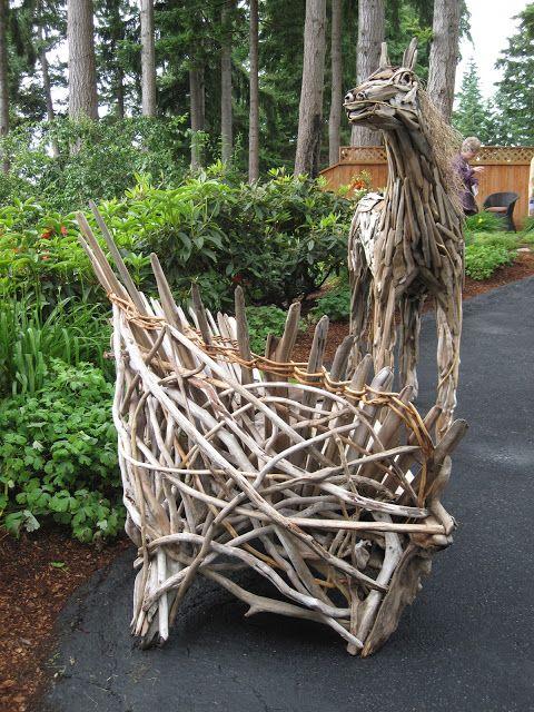Bonney Lassie: Garden Art at the Gig Harbor Garden Tour