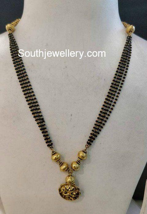 multistring nallapusalu chain photo black beads in 2019