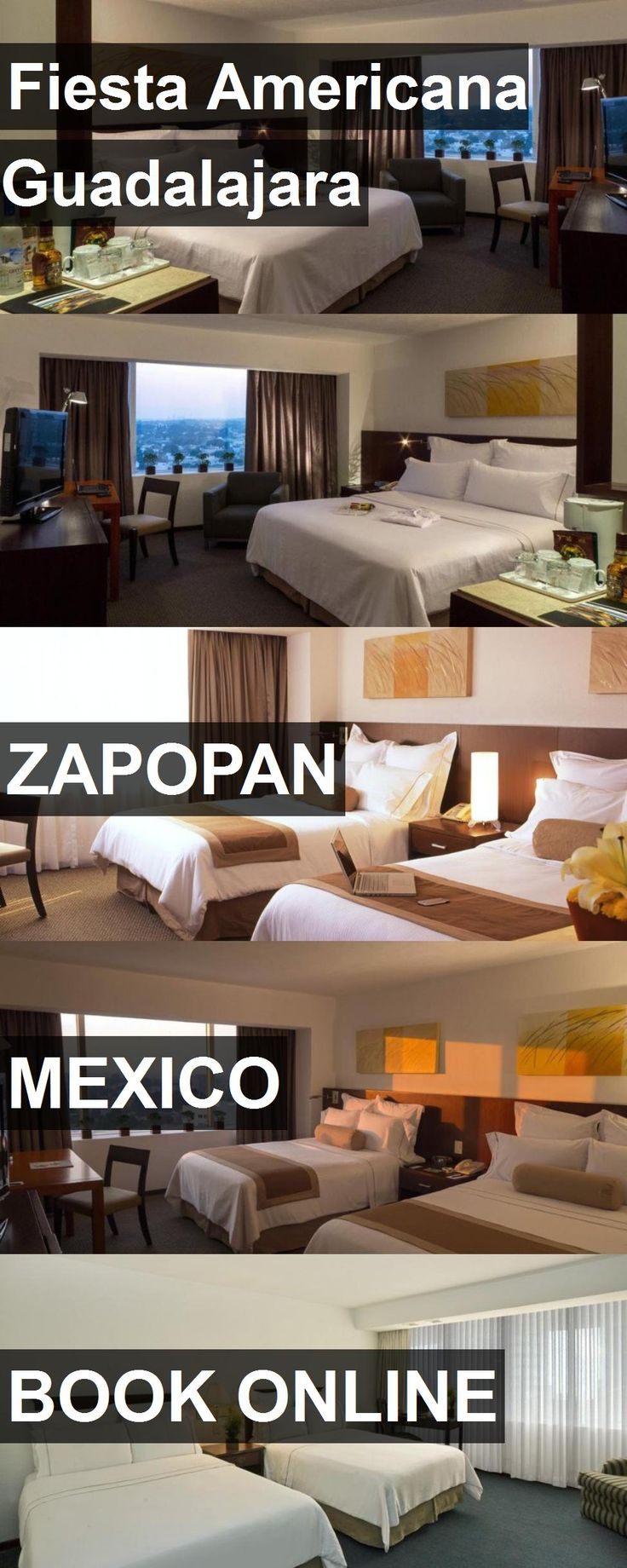 Hotel Fiesta Americana Guadalajara in Zapopan, Mexico. For more information, photos, reviews and best prices please follow the link. #Mexico #Zapopan #travel #vacation #hotel