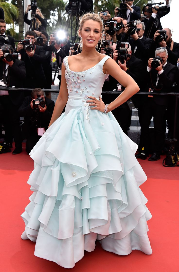 "Blake Lively at the ""Slack Bay (Ma Loute)"" premiere at Cannes Film Festival."