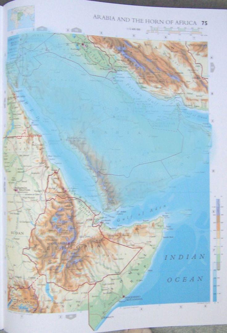 Africa Map Horn Of Africa%0A Los Cambios Terrestres del      hasta el      est  n Acerc  ndose R  pidamente