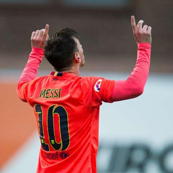 Messi brilla con el líder Barcelona para doblegar al Eibar