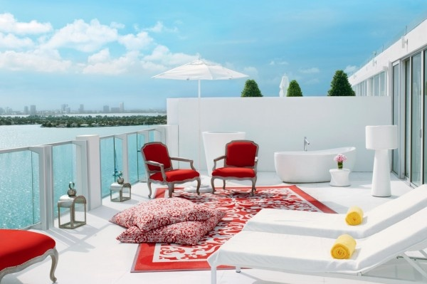 About ready for a vacation? These Miami hotel suites are a getaway for the eyes.
